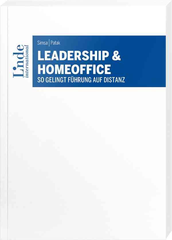 Buchcover Leadership und Homeoffice